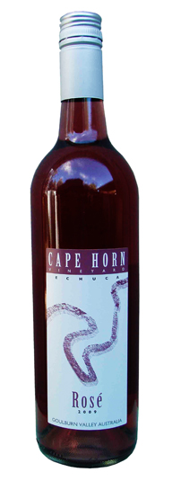 Cape Horn Vineyard Rose 2013