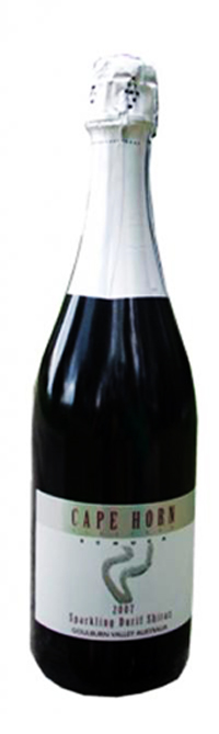 Cape Horn Vineyard Sparkling Durif Shiraz 2015